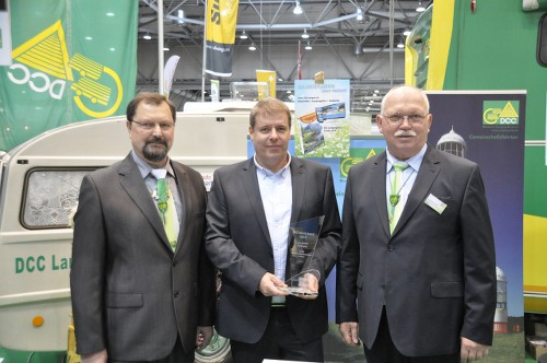 DCC Technik-Award 2015 geht an TireMoni